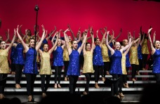 Charisma, City High's female junior varsity show choir, performs a show centered around female role models and women empowerment on Wednesday, Jan. 9.