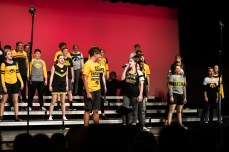 """City High's varsity show choir 4th Avenue performs """"Make a Wave"""" by Demi Lovato, with Ingrid Streitz '19 and Ian Allen '21 as soloists."""
